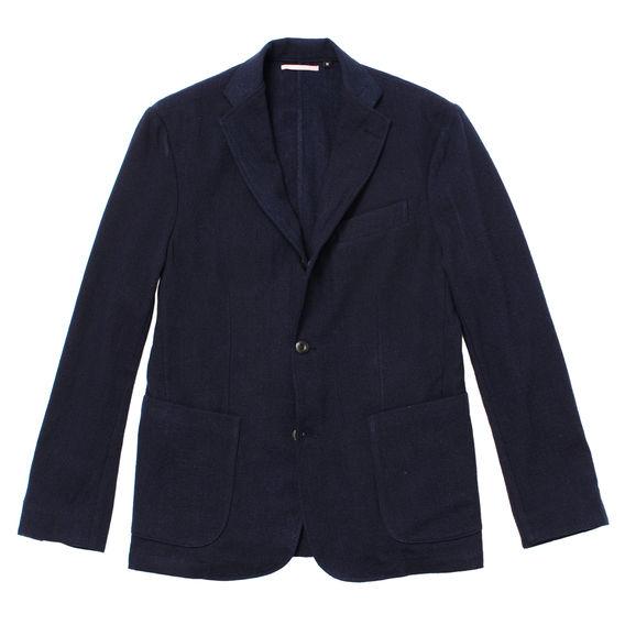 Apfbtudety indigo wool blazer 0 original