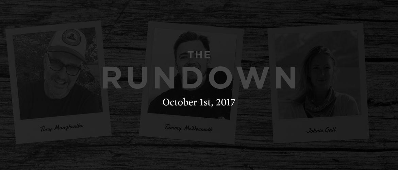 Featured rundown october